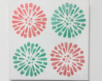 Simple Flower Canvas