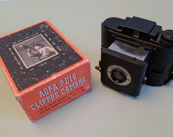 Agfa PD16 Clipper 616 rollfilm camera