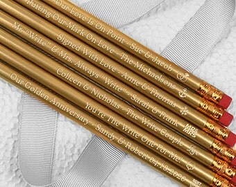 Bridal Shower Pencil Etsy