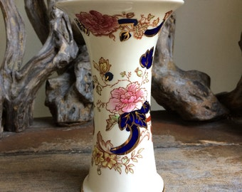 Antique Mason's Mandalay Vase, English Ironstone China