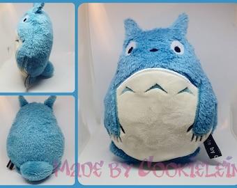 Totoro plush blue