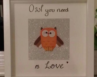 Owl You Need is Love Handmade picture