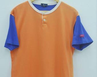 POLO RALPH LAUREN Shirt Vintage 90's Polo Sport Ralph Lauren Contrast Sleeve Tee T Shirt Size M