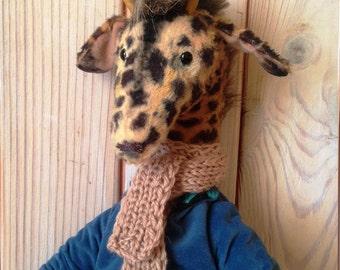 Teddy giraffe Giraffe Teddy bear Stuffed animals Vintage toy Stuffed giraffe Vintage bear Giraffe stuffed animal