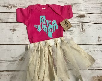 Love Y'all, Cute, Bodysuit, Baby, Home Coming, Texas, Native , State Pride, Southern, Infant, Girl, Statement, Adorable, Trendy, Unique,