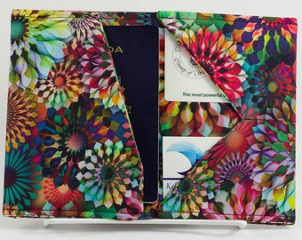 Multicolor Passport Holder