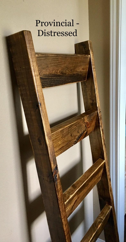 5 Ft Blanket Ladder Quilt Ladder Wood Ladder Blanket