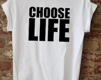 Choose Life George Michael Shirt, Wham  Fan Retro Pop Icon Men S-3XL