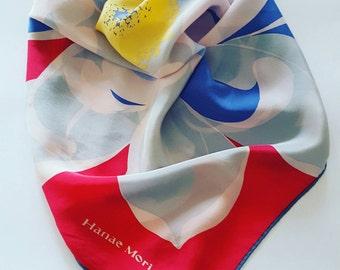 Hanae Mori vintage scarf