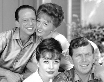 "Andy, Barney, Helen & Thelma Lou in ""The Andy Griffith Show"" - 8X10 or 11X14 Photo (EP-016)"