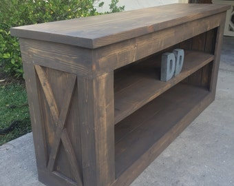 Farmhouse Media Console (Local Pick up/Delivery Only!)