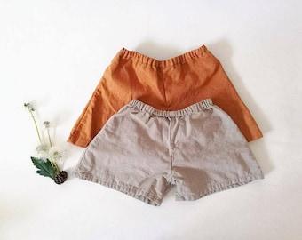 Linen wanderer shorts