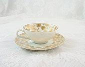 Antique Gold Tea Cup and ...