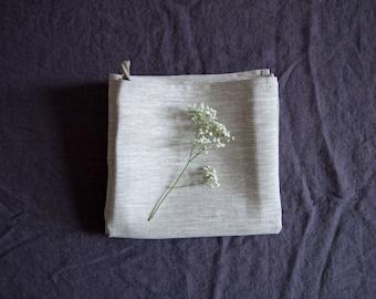 SALE! Gray linen towel / 46 x 70 cm / natural linen / eco linen / kichen towel