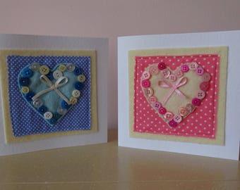 new baby girl card, new baby boy card, congratulations baby card, newborn card, new arrival, birth card,