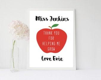 Teacher - Thank You