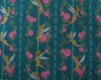 Tinkerbell Disney Flannel Fabric