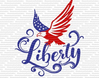liberty, svg, 4th of July, America, USA, red, white, blue, day, shirt, cricut, silhouette, cut, file, vector, decal, design