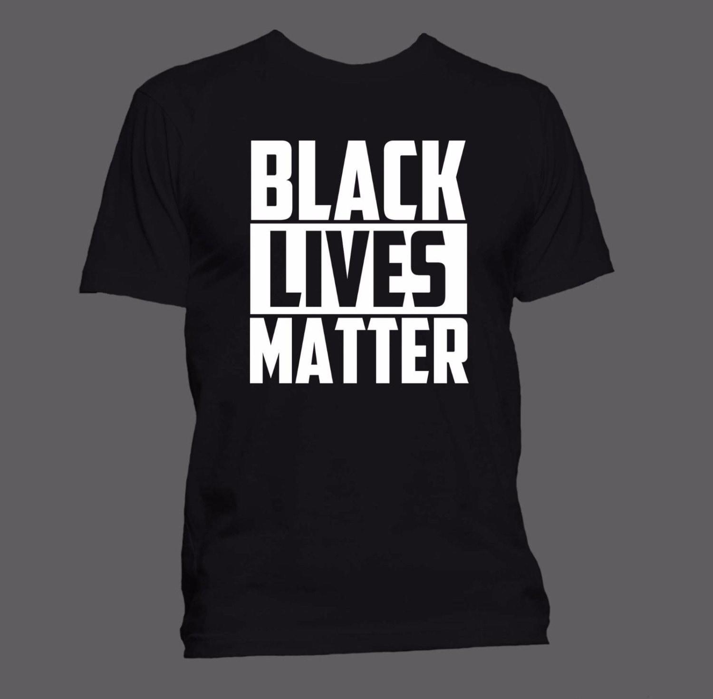 Black Lives Matter T-shirt (S-XXL Men & Women sizes/100% Ringspun ...