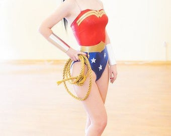 Wonder Woman from Justice league cosplay costume make to order
