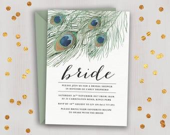Bridal Shower Invitation // Kitchen Tea Invitation //