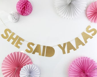 Engagement Party Decorations | Engagement | She Said Yes Decorations