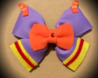 Disney Figment Dragon Disneyland Character Inspired Hair Bow