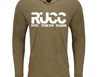 RUCC Soft, Fitted Hoody-Military Green