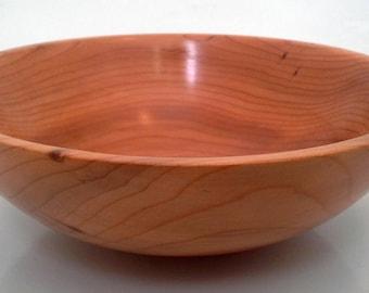 Handmade Wood Bowl in Yew