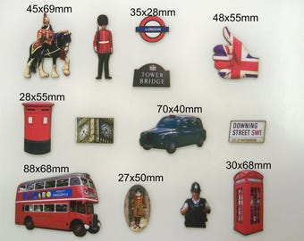 BRITAIN - A Great collection of 12 X  british icons