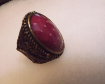 Middle Eastern Agate Ring