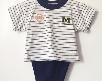 deadstock university of michigan set size 2t nwt