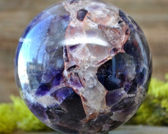 Amethyst Crystal Sphere Ball -  1063.17