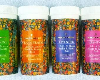 Bath Salts with Essential Oils Bath Soak Essential Oils Bath Salts with Minerals