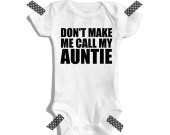 Aunt and niece - Aunt and nephew - Aunt shirt - Aunt gift - Don't make me call my auntie - I love my Auntie - Funny auntie shirts - Aunt