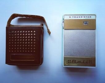 BALI TRN-6036 6 Transistor Radio
