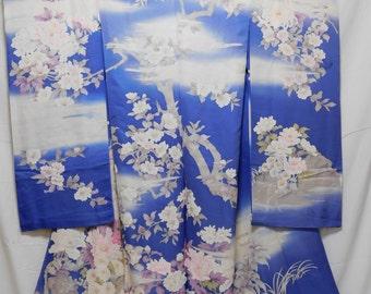 Brand new Japanese Furisode fabric