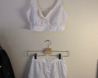 Vintage french Lingerie set