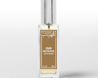 Oud Mokaya - Spray perfume Eau de Parfum - Oriental fragrance for men