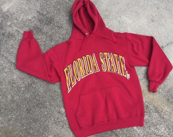 Vintage Florida State University Hooded Sweatshirt