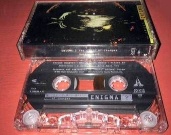 Enigma The Cross of Changes Cassette Tape