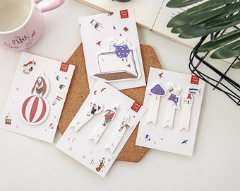 Whimsical Animal Sticky Notes