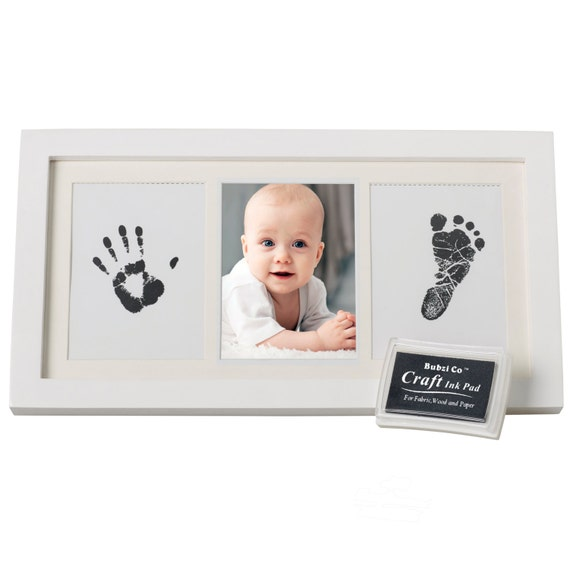 Baby Handprint Kit And Footprint Frame Baby Prints Photo