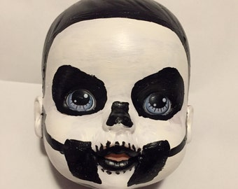 Hand Painted Doll Head Ghost BC Ghost Papa Emeritus