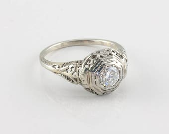 Vintage Edwardian Diamond Ring, 0.45 ct