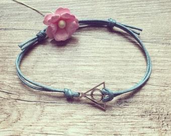 Triangle bracelet bracelet in petrol silver, stainless steel, triangle, blogger, vintage, statement,