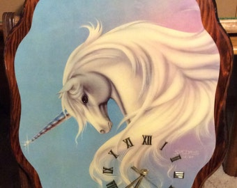 Unicorn Clock / Sue Dawes / 1984