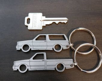 GMC Syclone and Typhoon Keychains