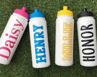 Personalised water bottle / Sports water bottle
