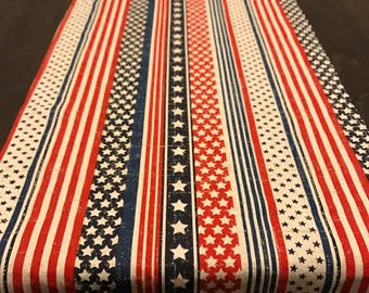 Table Runner - Stars & Stripes - 4th of July - Americana